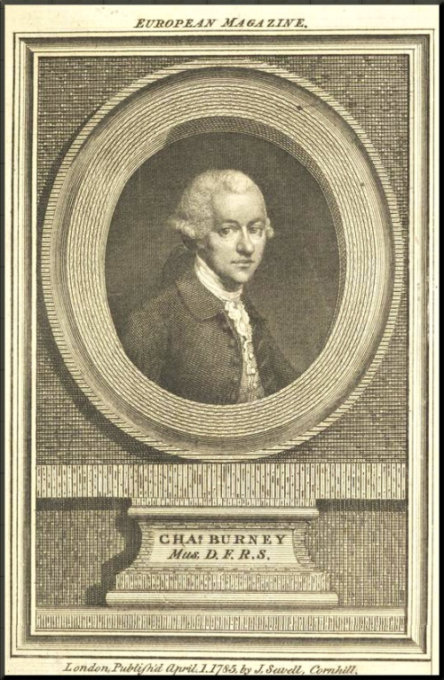 1799 Burney in 1785 - European Magazine