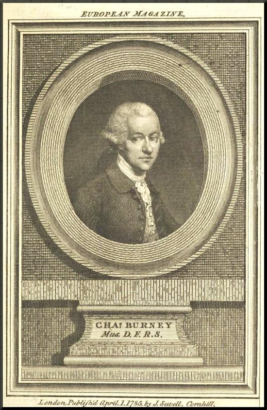 1799 Burney in 1785 - European Magazine